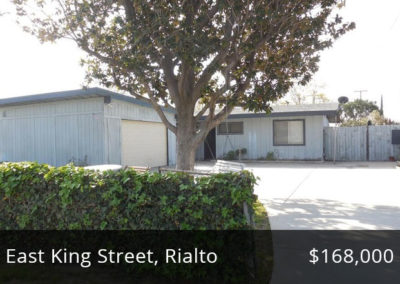 Recently Funded Home by BN Loans Inc. on East King Street in Rialto, California